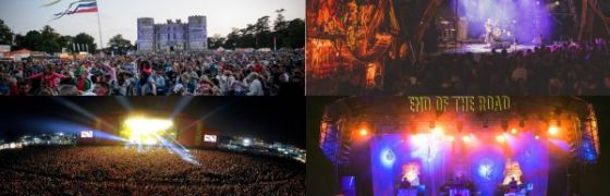 The Festival Planner - 4 of the Best Indie Festivals in the UK