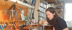Interview: Mamie Minch - Blues Guitarist and Technician at RetroFret Brooklyn
