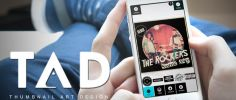 New TAD App helps musicians create thumbnail artwork