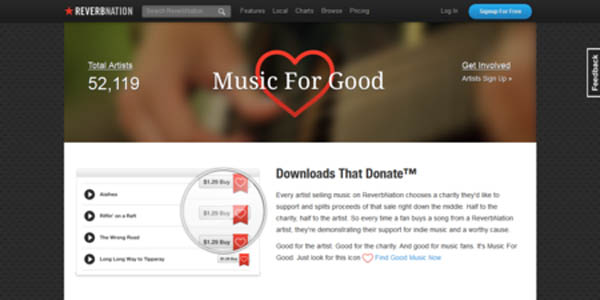 how to download music from reverbnation on iphone