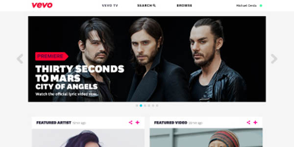 VEVO Relaunches Web, Mobile