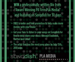 Enter the Songdish PLA Media Contest now!